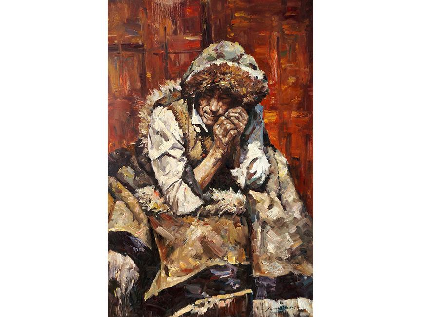 韩泰龙(一级画家)《人物》2015