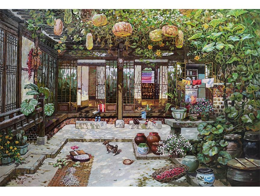 金申哲(功勋艺术家)《安居乐俗》2014