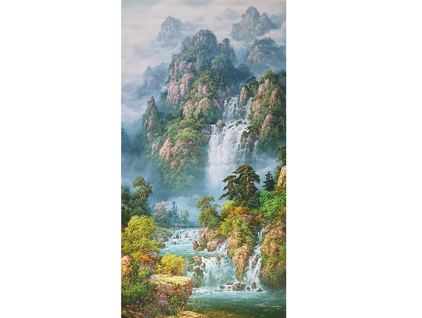 李光石(一级画家)《青山不老》2018