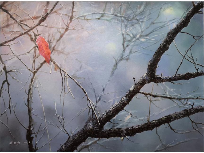 柳尚赫(一级画家) 《希望 》65x50 2019年