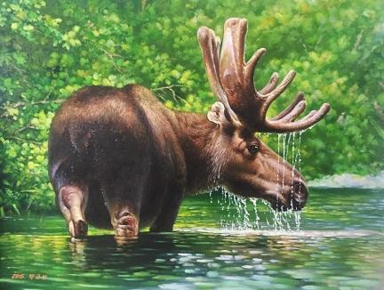 福建《麋鹿》