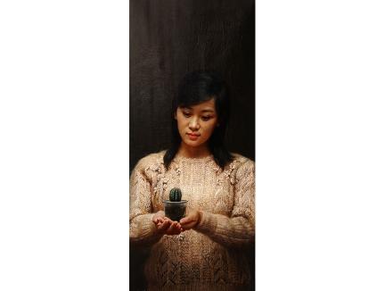 白明学(功勋艺术家)《清水出芙蓉》2016