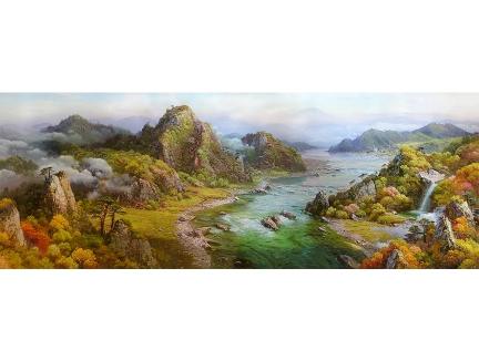 赵正范(一级画家)《盛世河山》