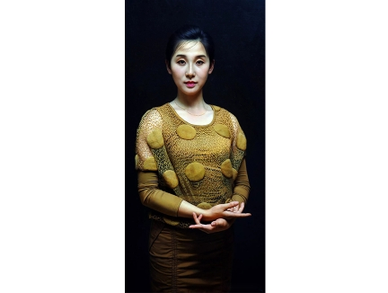 张元吉(一级画家)《佳人》