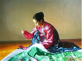 浙江金银星(一级画家)《民俗》2015