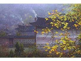金哲镇(功勋艺术家)《浮生半日》89x60 2021年