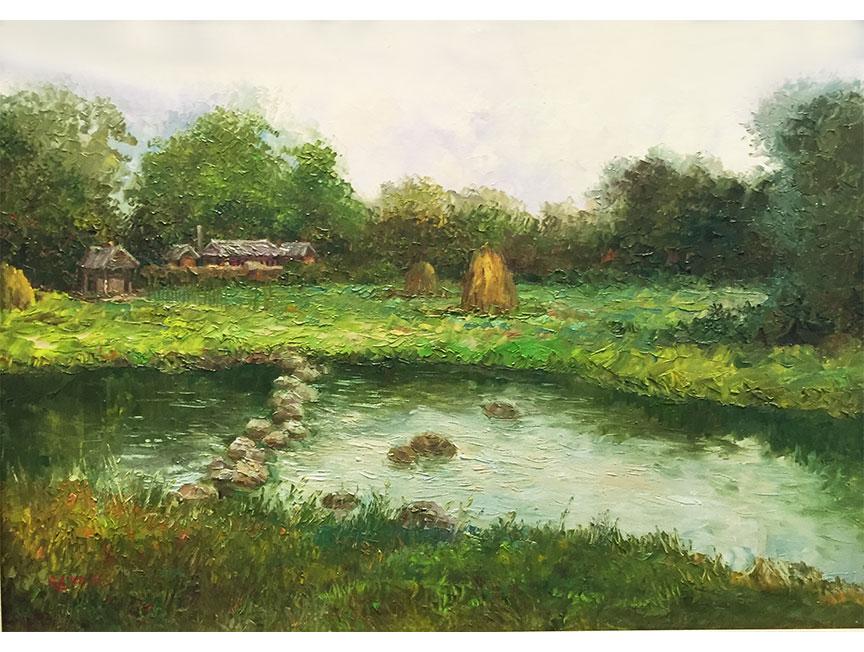 丹东朝鲜油画